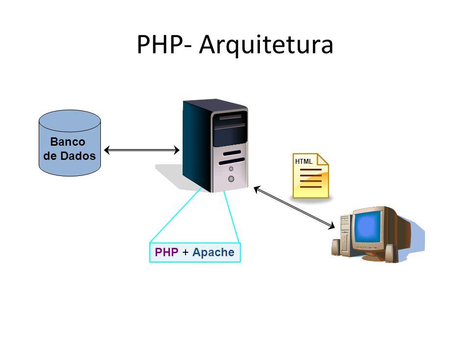 PDO: Conexão com Banco de Dados PDO (PHP Data Objects) é um módulo de PHP montado sob o paradigma Orientado a Objetos e cujo objetivo é prover uma padronização da forma com que PHP se comunica com um banco de dados relacional – Apenas para PHP 5.