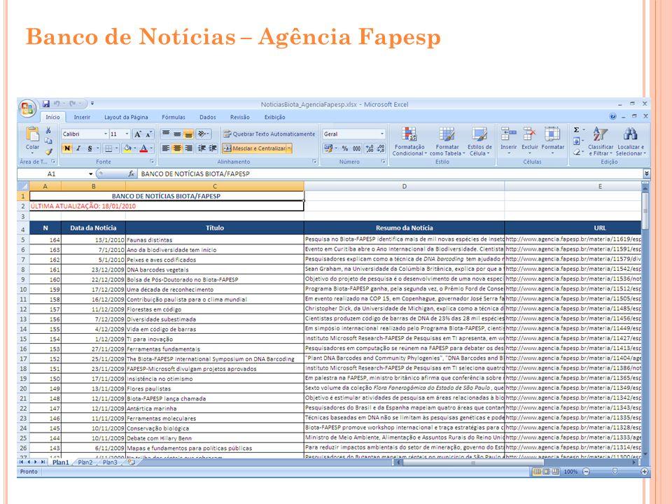 Banco de Notícias – Agência Fapesp