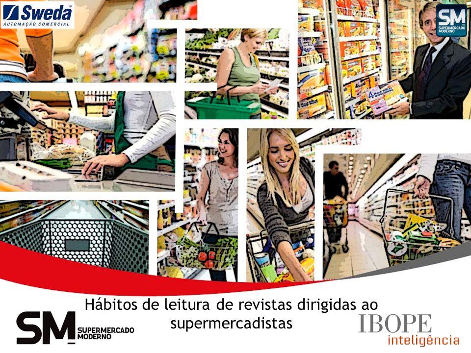 Hábitos de leitura de revistas dirigidas ao supermercadistas