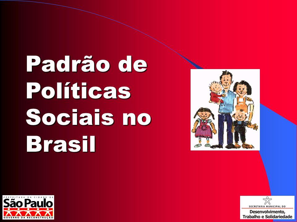 Programas Sociais A experiência paulistana de 2001 a 2004 Gestão do PT