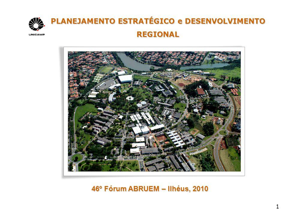 1 PLANEJAMENTO ESTRATÉGICO e DESENVOLVIMENTO REGIONAL 46º Fórum ABRUEM – Ilhéus, 2010 46º Fórum ABRUEM – Ilhéus, 2010