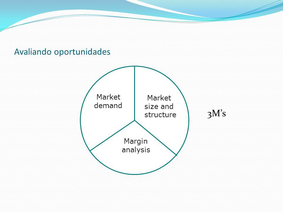 Avaliando oportunidades Market Demand Qual é a audiência alvo.