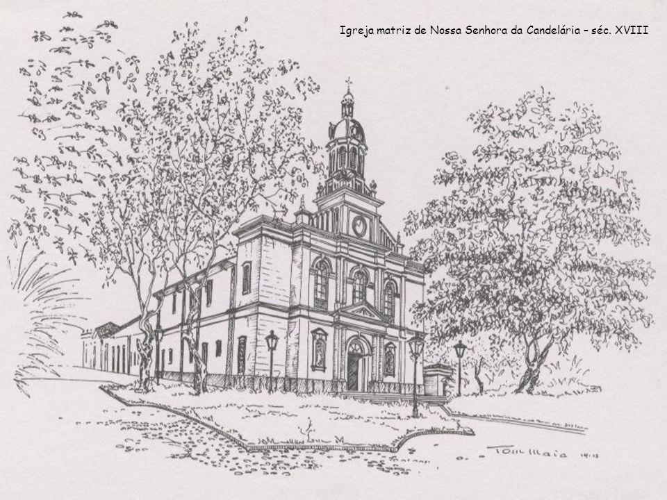 Conjunto arquitetônico do século XIX Praça Padre Miguel