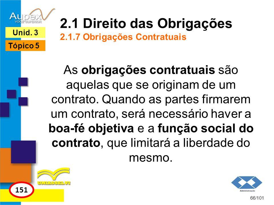 As obrigações contratuais são aquelas que se originam de um contrato. Quando as partes firmarem um contrato, será necessário haver a boa-fé objetiva e