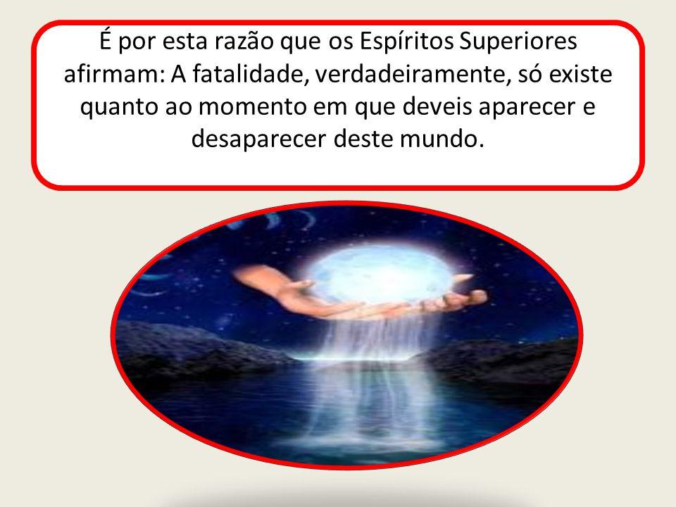 Ao vê-lo fraquejar, um bom Espírito pode vir- lhe em auxílio, mas não pode influir sobre ele de maneira a dominar-lhe a vontade.