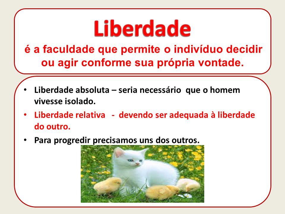 Liberdade de pensar e Liberdade de consciência Liberdade de consciência