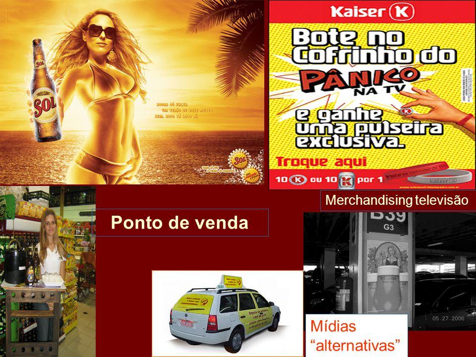 Ponto de venda Merchandising televisão Mídias alternativas