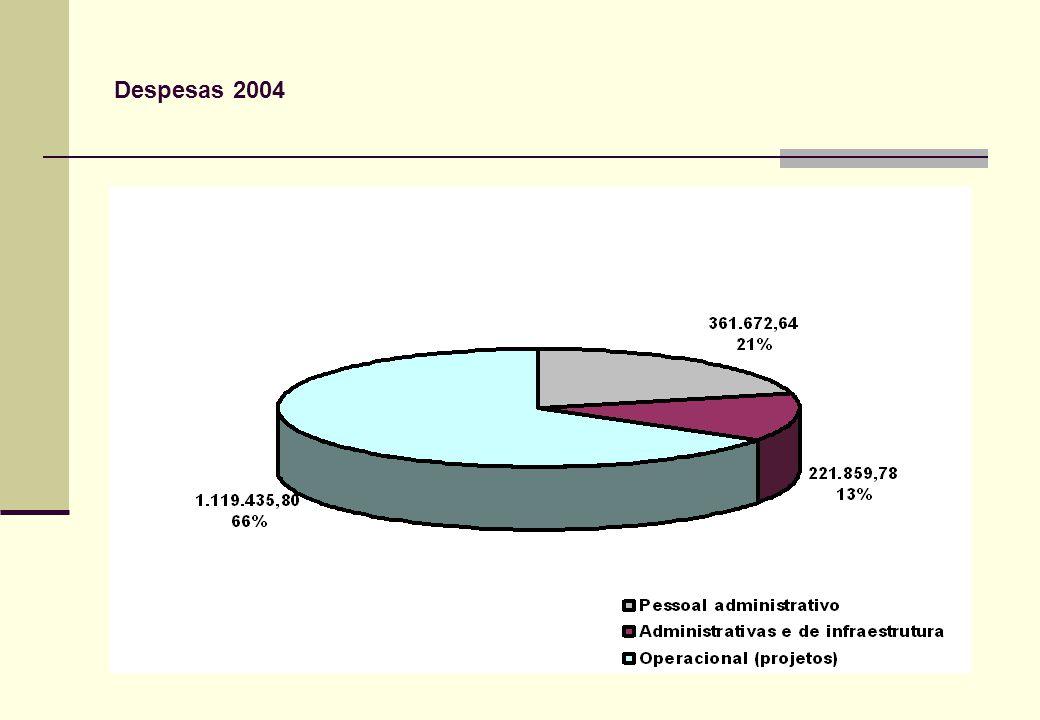 Despesas 2004