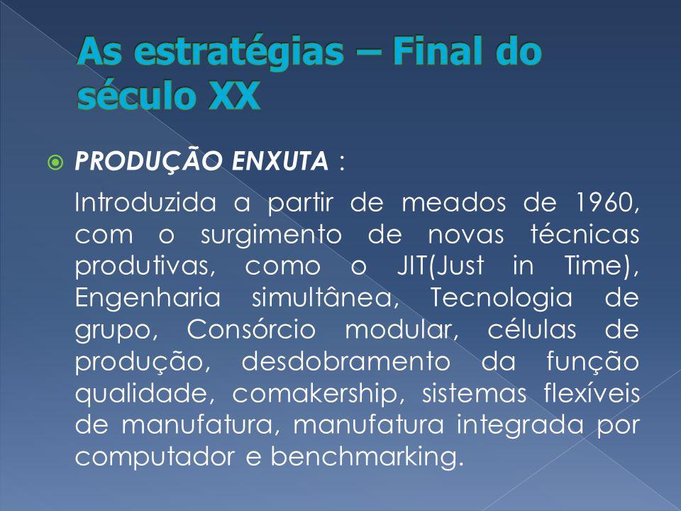 Flexibilidade A flexibilidade está associada a inovação de bens e serviços, a variedade desses, ao amplo volume de fornecimento e aos possíveis tempos de entrega diferentes.