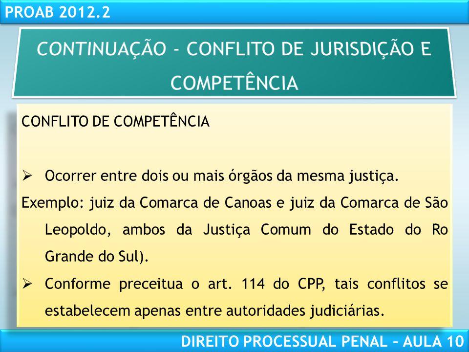 RESPONSABILIDADE CIVIL AULA 1 PROAB 2012.2 DIREITO PROCESSUAL PENAL – AULA 10 Legitimidade – art.