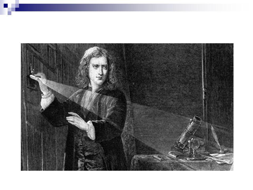 1777Carl Wilhelm Scheele luz violeta é a mais energética do espectro 1800Friedrich Herschel descobre a radiação infravermelha na luz solar região espectral acima da cor vermelha fornece uma grande potência calorífica