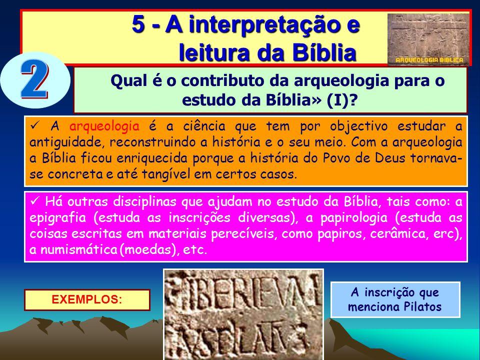 A arqueologia é a ciência que tem por objectivo estudar a antiguidade, reconstruindo a história e o seu meio. Com a arqueologia a Bíblia ficou enrique