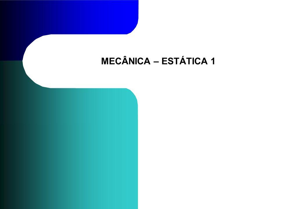 MECÂNICA – ESTÁTICA 1
