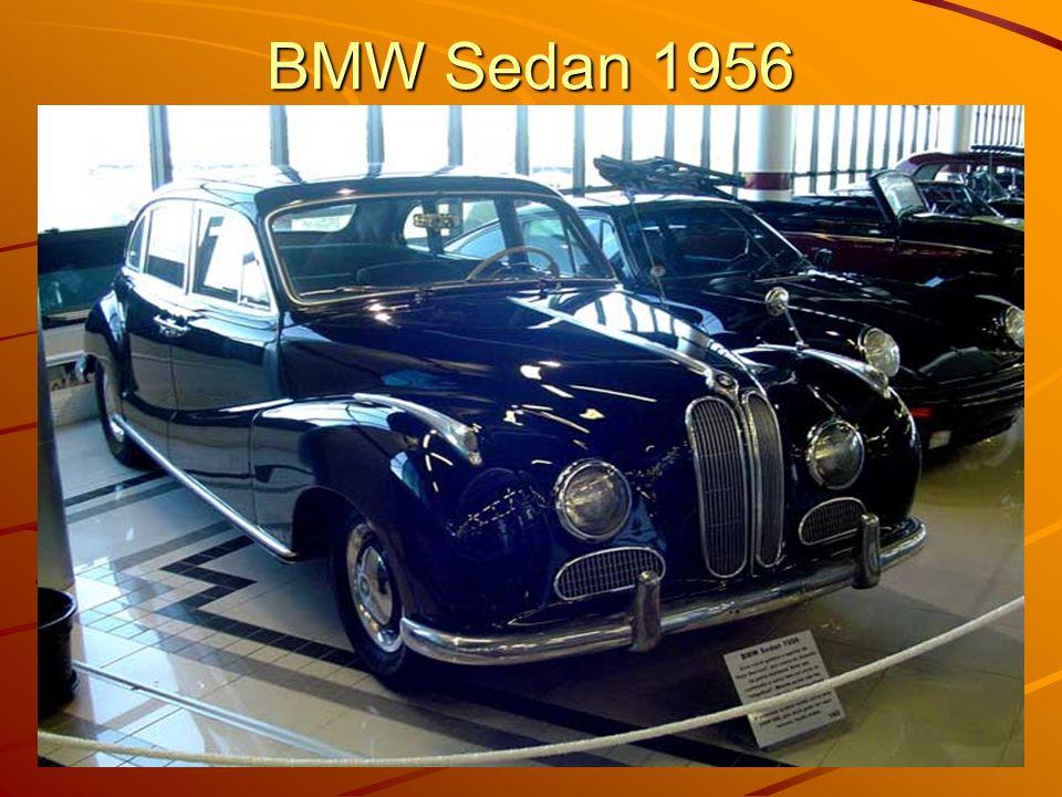 BMW Sedan 1956