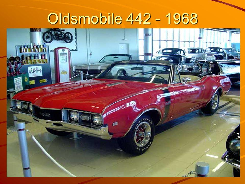Oldsmobile 442 - 1968