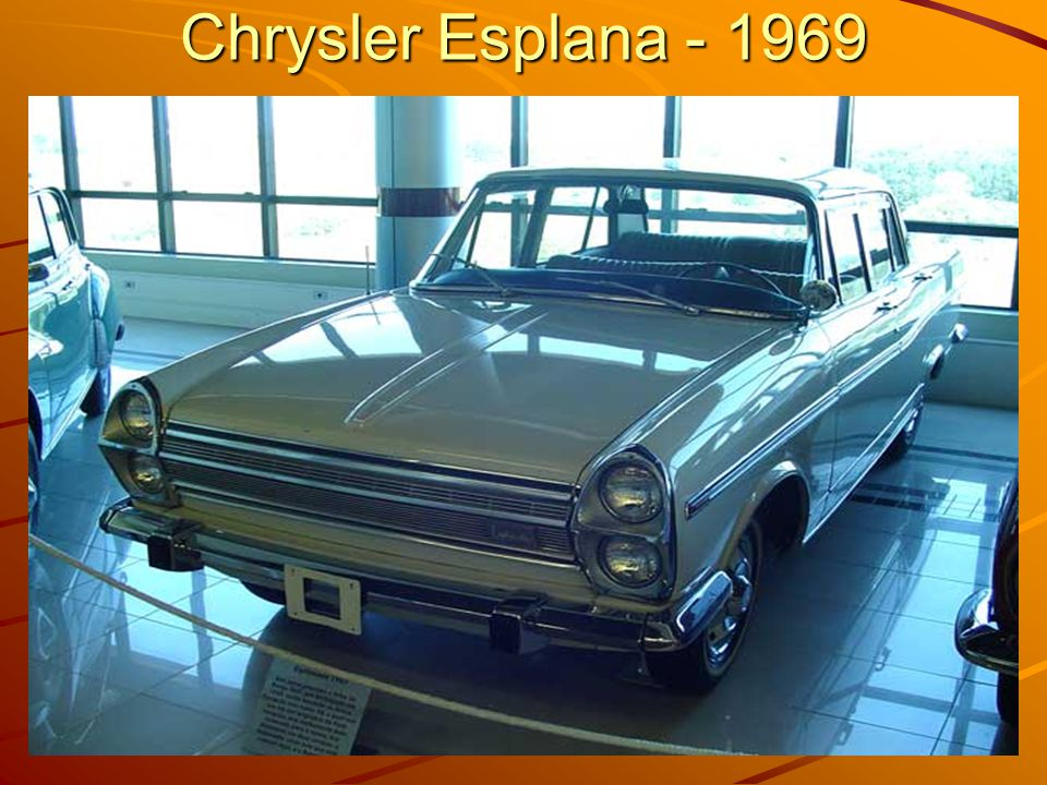 Chrysler Esplana - 1969