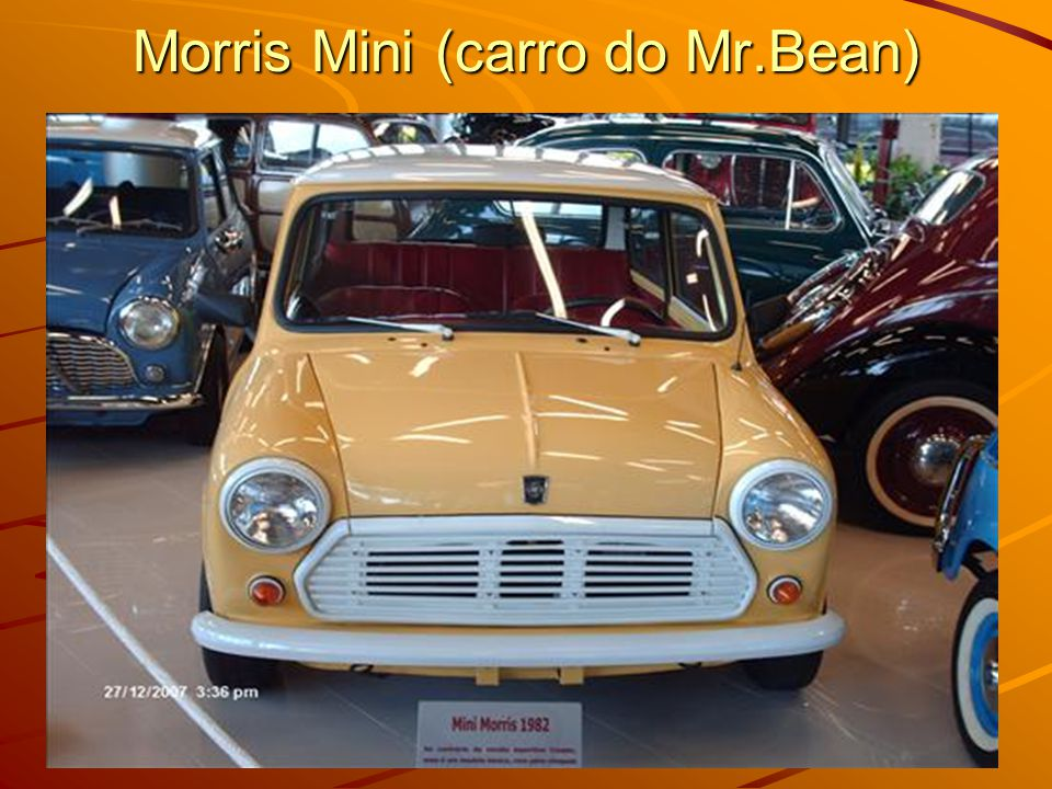 Morris Mini (carro do Mr.Bean)