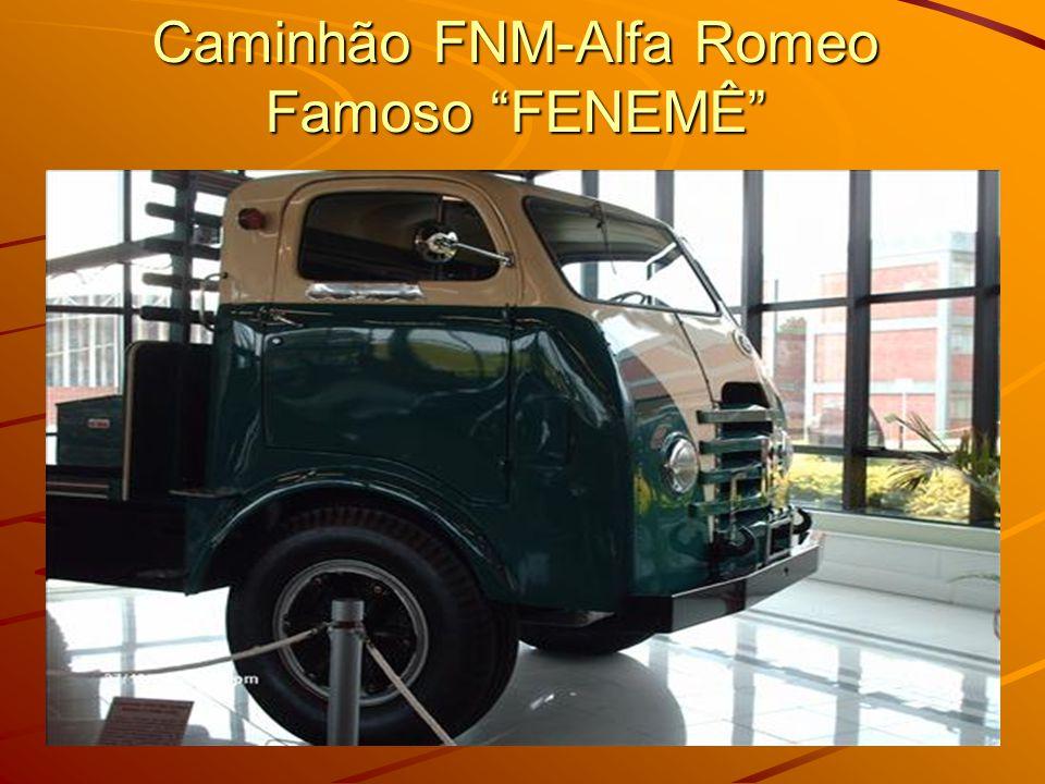 Caminhão FNM-Alfa Romeo Famoso FENEMÊ