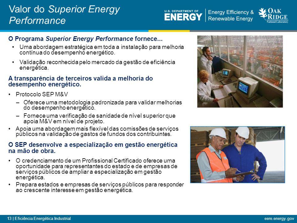 13 | Eficiência Energética Industrialeere.energy.gov O Programa Superior Energy Performance fornece...