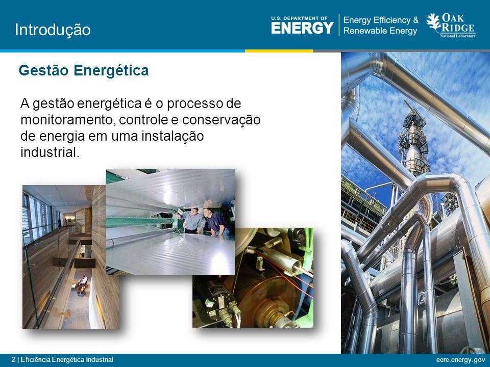 2 | Eficiência Energética Industrialeere.energy.gov A gestão energética é o processo de monitoramento, controle e conservação de energia em uma instalação industrial.