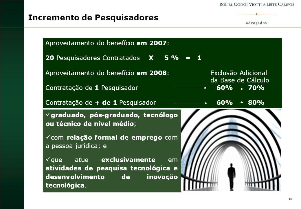 16 Benefício Alternativo - ICT Art.19-A.