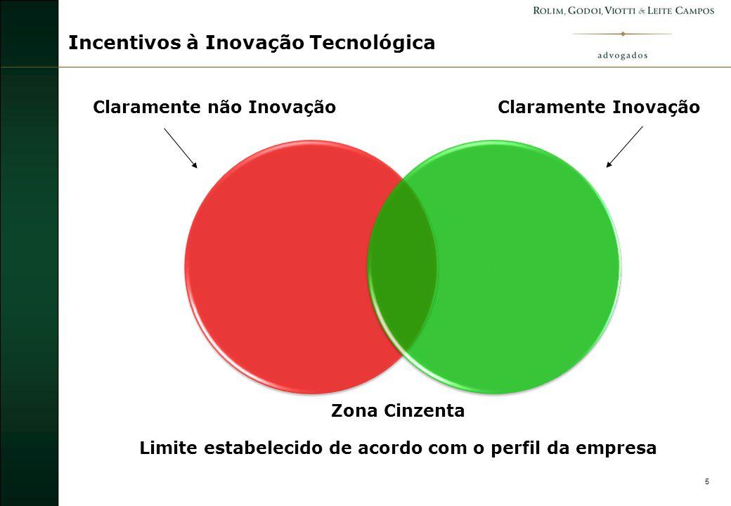 6 A inovação pode resultar de novos desenvolvimentos tecnológicos, de novas combinações de tecnologias existentes ou da utilização de outros conhecimentos adquiridos pela empresa.
