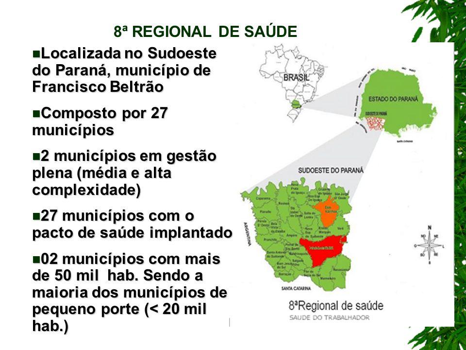 Localizada no Sudoeste do Paraná, município de Francisco Beltrão Localizada no Sudoeste do Paraná, município de Francisco Beltrão Composto por 27 muni
