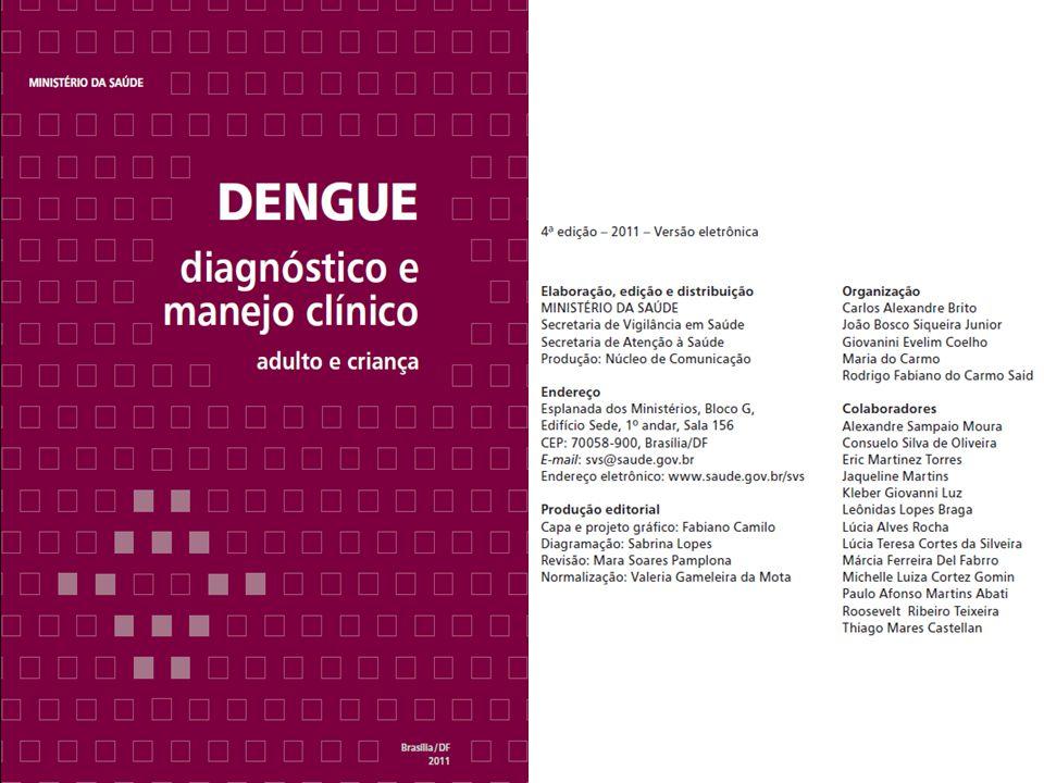Dengue é uma doença que evolui com diferentes níveis de gravidade.