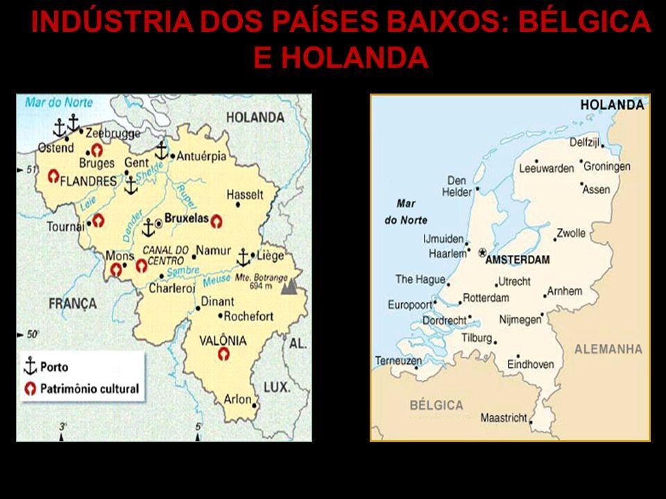 INDÚSTRIA DOS PAÍSES BAIXOS: BÉLGICA E HOLANDA