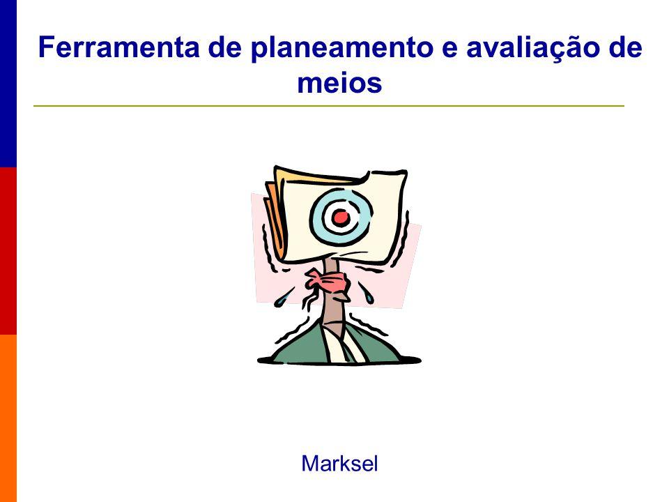 Ferramenta de planeamento e avaliação de meios Marksel