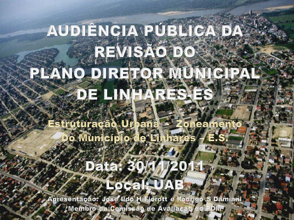 Zoneamento Urbano do Município ANEXO II - ANTIGO Novo Perímetro Urbano Atualização das Informações Evolução da Cidade Intervenções Urbanas