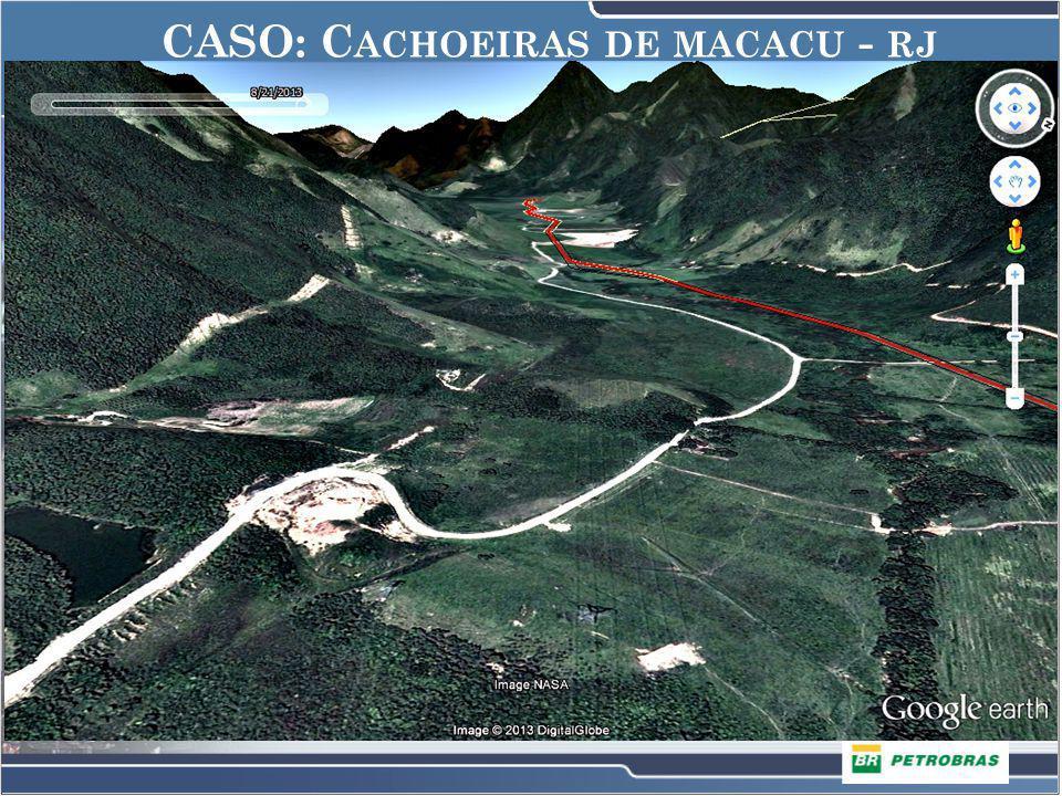 CASO: 1 o DISTRITO DE ITABORAÍ CASO: C ACHOEIRAS DE MACACU - RJ