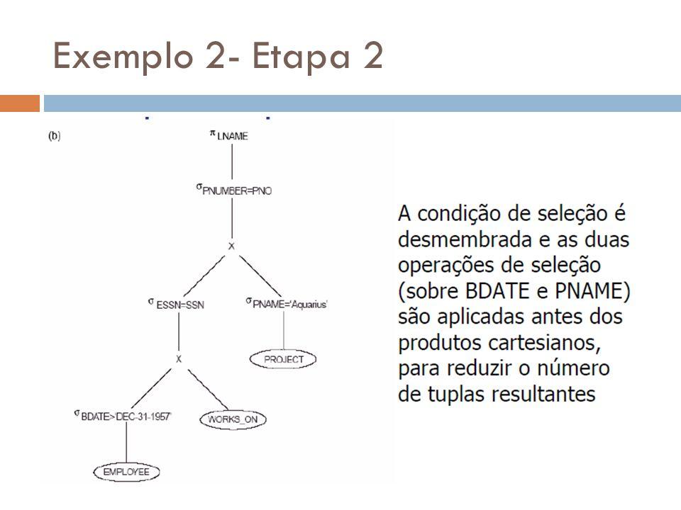 Exemplo 2- Etapa 2