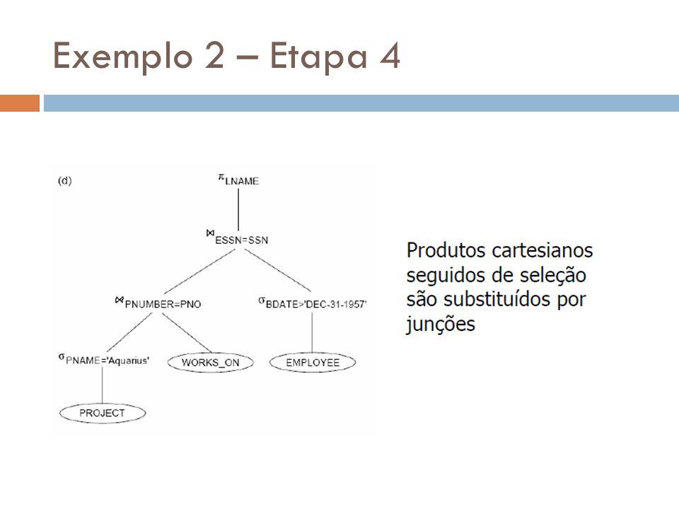 Exemplo 2 – Etapa 4