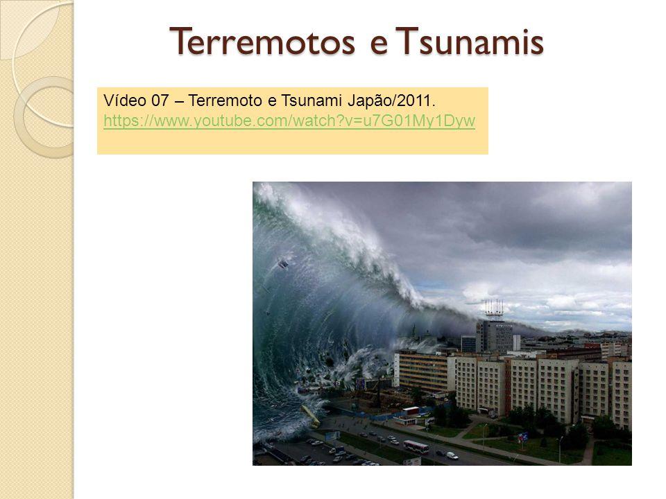 Terremotos e Tsunamis Vídeo 07 – Terremoto e Tsunami Japão/2011.