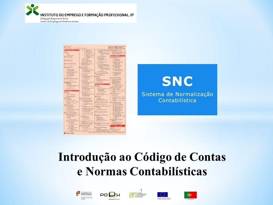 Introdução ao Código de Contas e Normas Contabilísticas 1