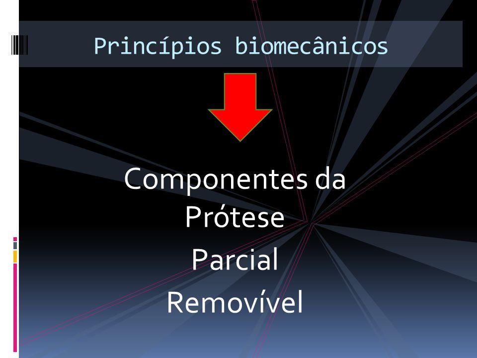 Componentes da Prótese Parcial Removível Princípios biomecânicos
