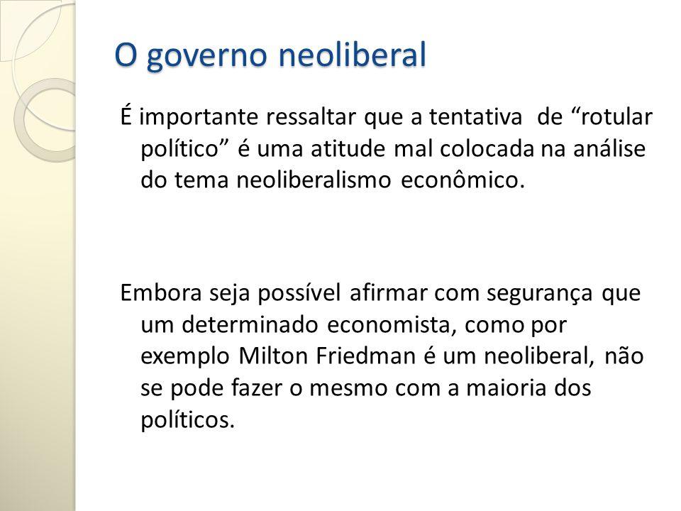 O Chile foi o primeiro país do mundo a adotar o neoliberalismo.