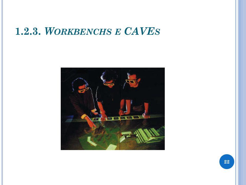 1.2.3. W ORKBENCHS E CAVE S 22