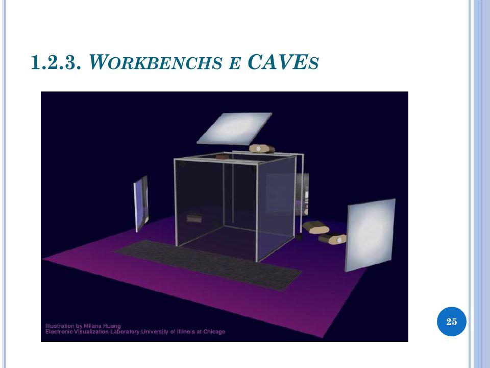 1.2.3. W ORKBENCHS E CAVE S 25