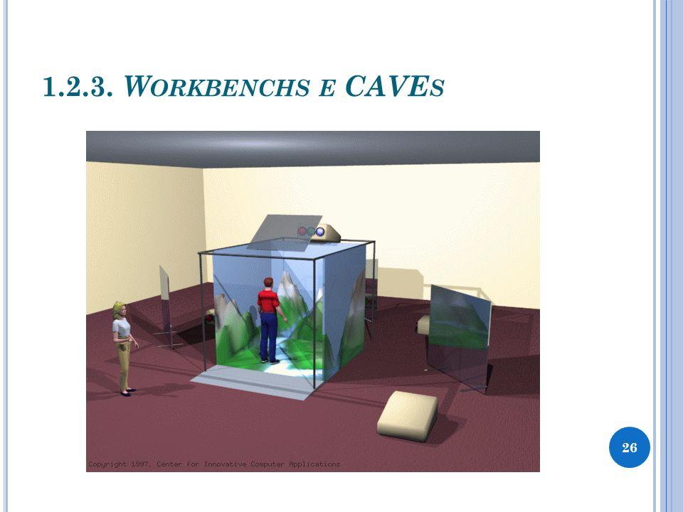 1.2.3. W ORKBENCHS E CAVE S 26