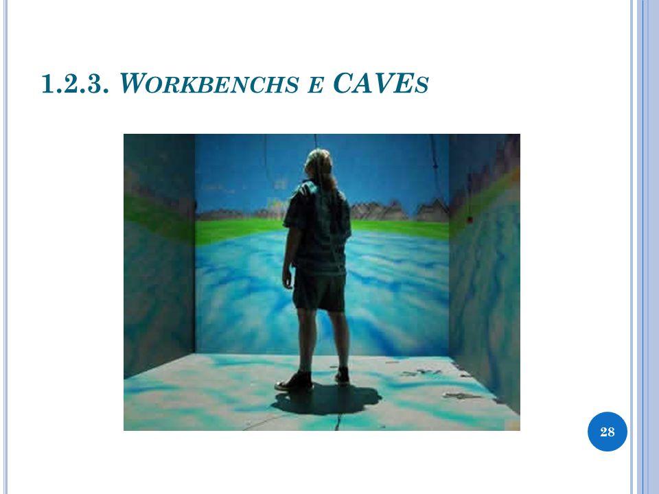1.2.3. W ORKBENCHS E CAVE S 28