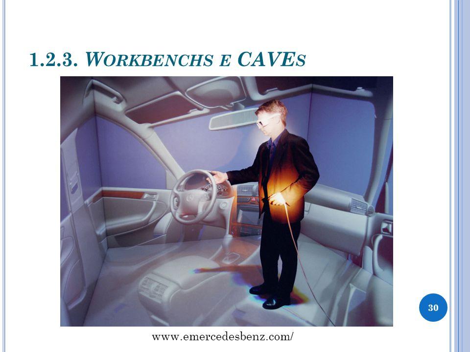 1.2.3. W ORKBENCHS E CAVE S 30 www.emercedesbenz.com/