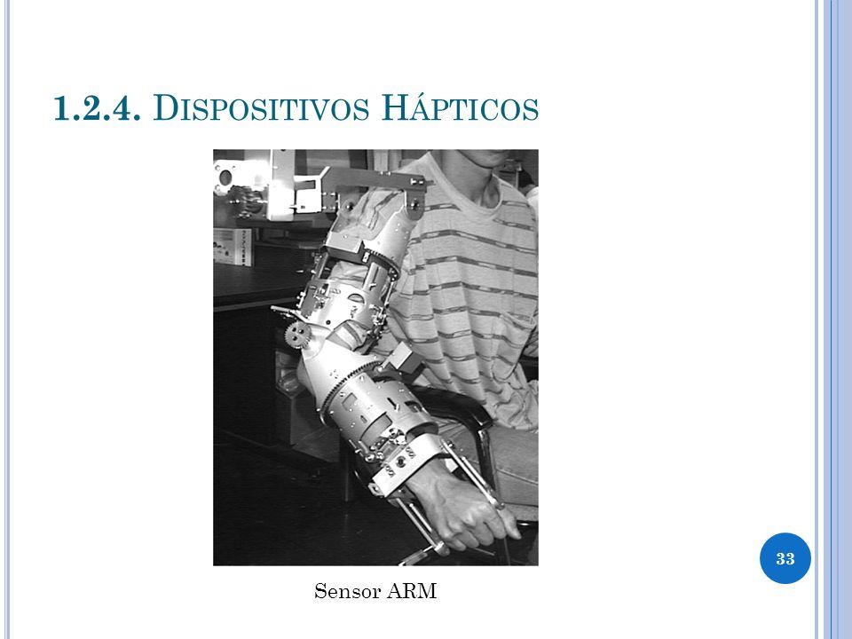 1.2.4. D ISPOSITIVOS H ÁPTICOS Sensor ARM 33