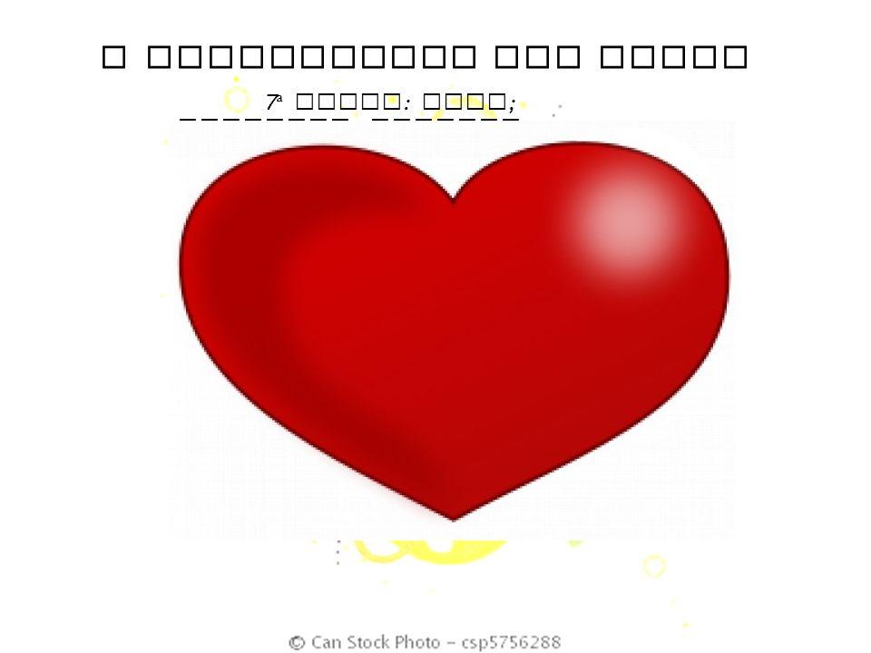 O SIGNIFICADO DAS CORES 7 ª DUPLA : Rosa ; Vermelho ; Laranja