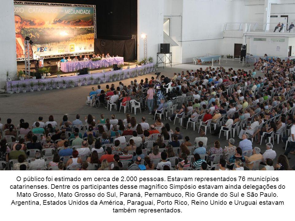 No dia 08 de janeiro de 2011, no Centreventos de Itajaí/SC, foi realizado o Simpósio Catarinense sobre Mediunidade, para homenagear os 150 anos de lançamento de O Livro dos Médiuns, que ocorreu em 15 de janeiro de 1861.