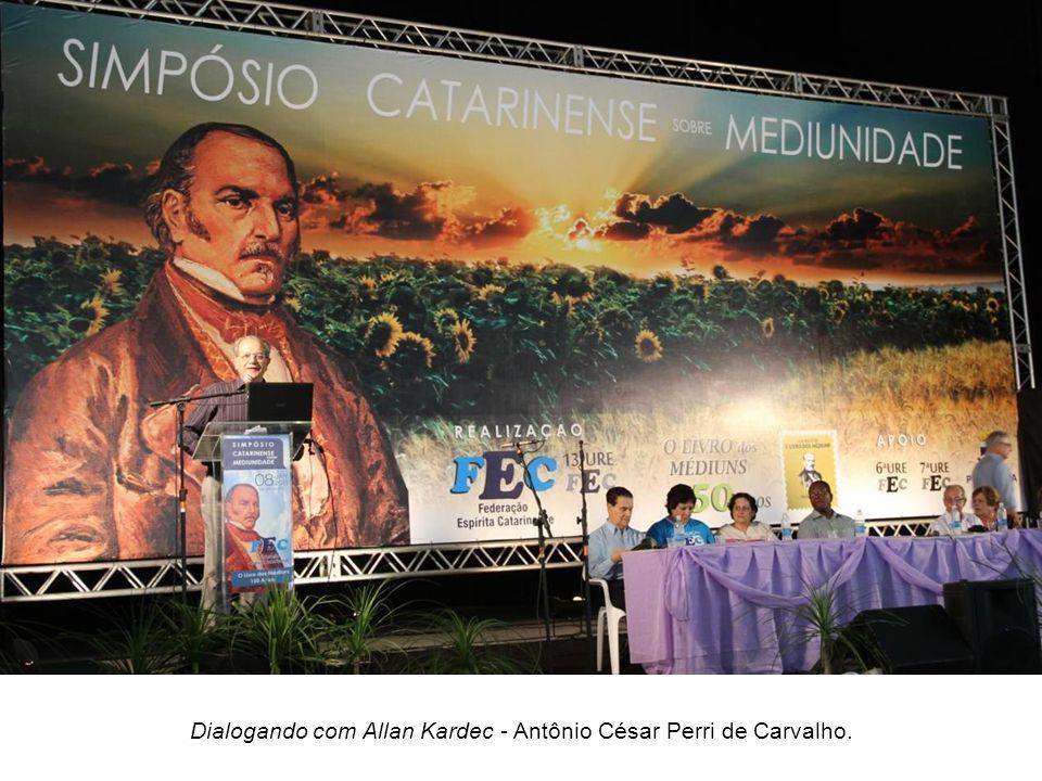 Temas e expositores: O Livro dos Médiuns, 150 anos de Pioneirismo Científico A mediunidade a Serviço de Jesus – Divaldo Pereira Franco.