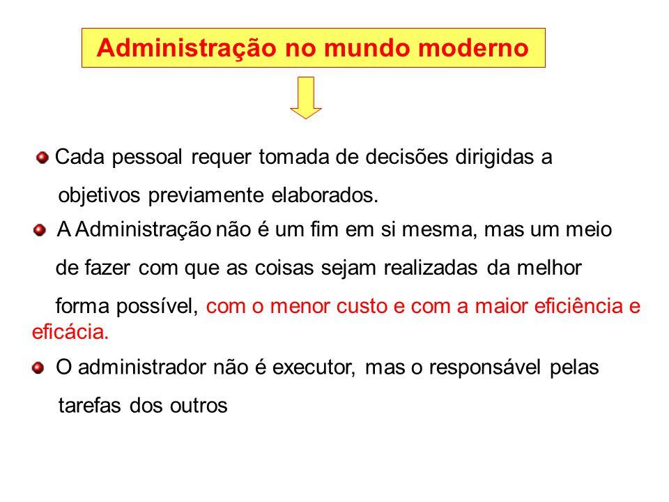 A essência do papel do administrador é obter resultados através de terceiros, portanto, é através deles que alcançará seus objetivos.