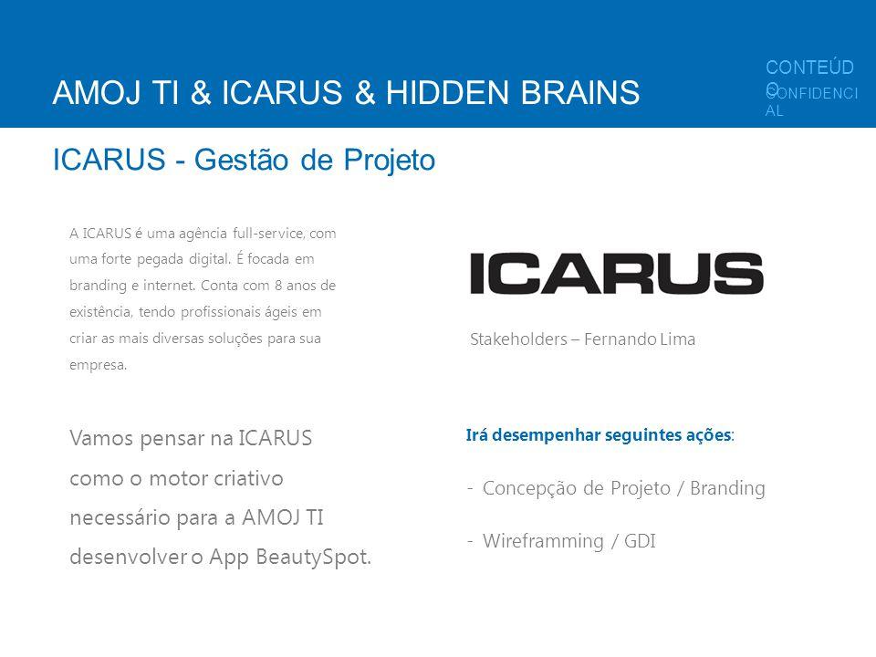 A ICARUS é uma agência full-service, com uma forte pegada digital. É focada em branding e internet. Conta com 8 anos de existência, tendo profissionai