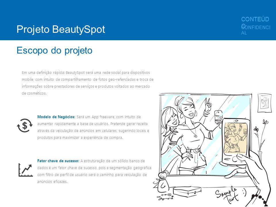 Em uma definição rápida: BeautySpot será uma rede social para dispositivos mobile, com intuito de compartilhamento de fotos geo-refenciadas e troca de
